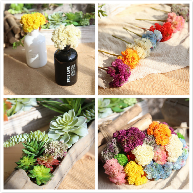 wedding decor real touch decoration rice fruit artificial flower