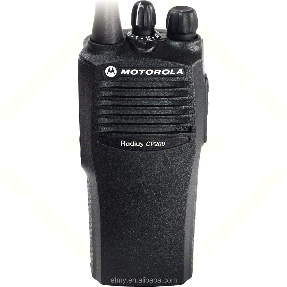 200 Mile Talkie-walkie Radio Bidirectionnelle Pratique Motorola CP200