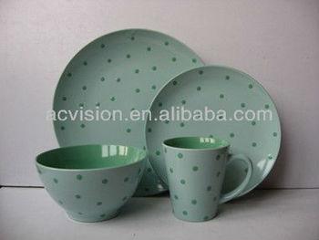 4 pcs round under glaze ceramic plates color 4pcs round fancy glazed ceramic dinnerware wholesale & 4 Pcs Round Under Glaze Ceramic Plates Color4pcs Round Fancy Glazed ...