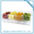4 Compartments Chiller Container On Ice Plastic Condiment Server