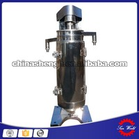GF series tubular centrifuge, liquid liquid solid separation centrifuge