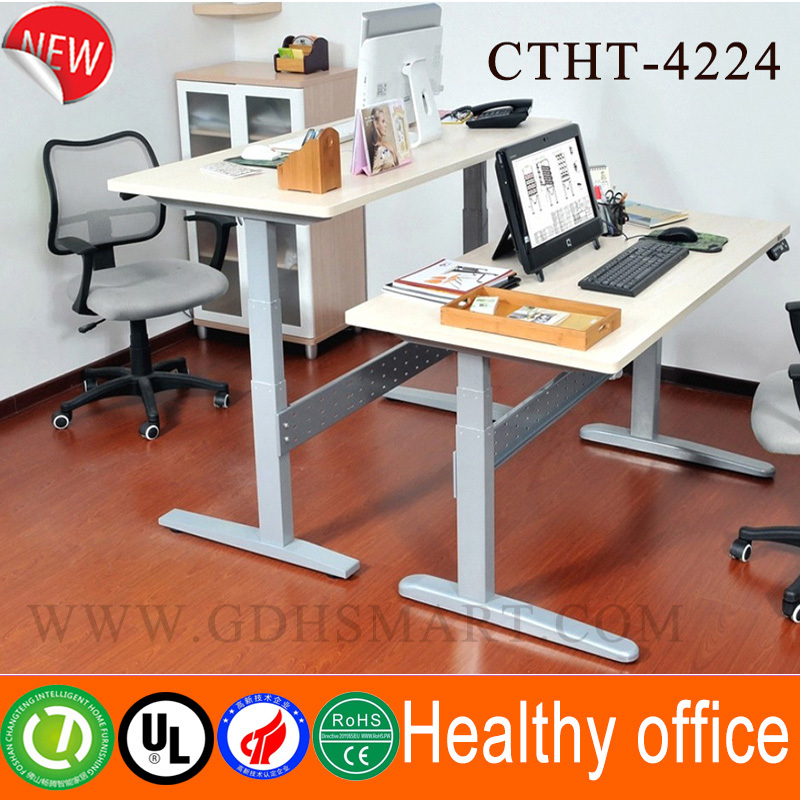 Motorized Lift Mechanism Sit Standing Office Desk Electronic Height Adjustment Column Remote Control
