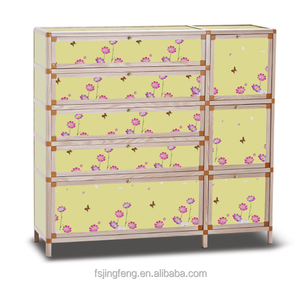 tempered glass shoes storage cabinet with various colors