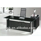 Manager tempered glass office tables office decoration (FOHJ-8028)
