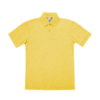 New Design Yellow Sample Polo T Shirt,Gym Uniform Polo Shirt