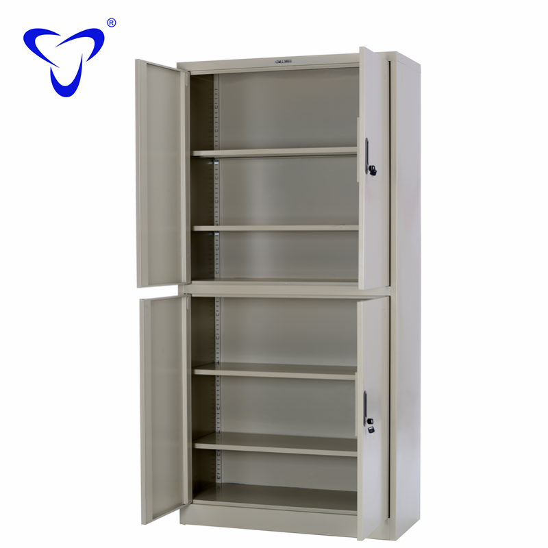 Open Metal File Cabinet Small Size Office Tall Shelf Plan Stainless Steel Mobile Storage