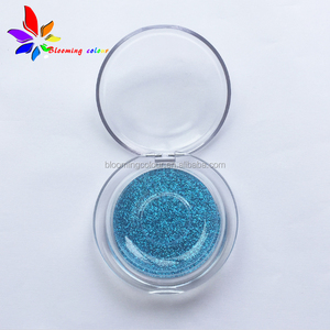 New arrival popular sale small round plastic eyelash box