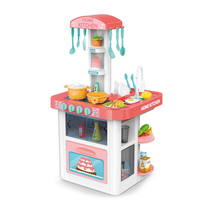 Role play cooking food toy multifunction kitchen play set for kids HC413040