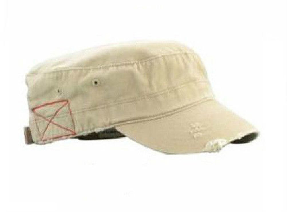 Get Quotations · NEW DISTRESSED CASTRO CADET MILITARY STYLE ARMY HAT MANY  COLORS AVAILABLE 10cc56263a0