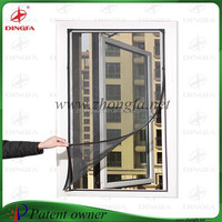 Chain store popular patent sliding mosquito screen door and window