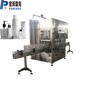 Automatic pharmaceutical high viscosity viscous liquid bottle volumetric filling sealing and capping machine