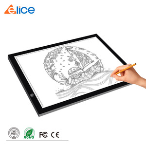 ELICE 18.5 inch Professional Animation Tracing Board Ultra Thin Tatoo Pad Light Box Graphic Drawing Tablet Trackpad