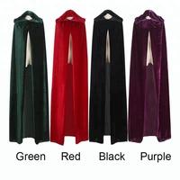 China Green Hooded Cloak f50309732