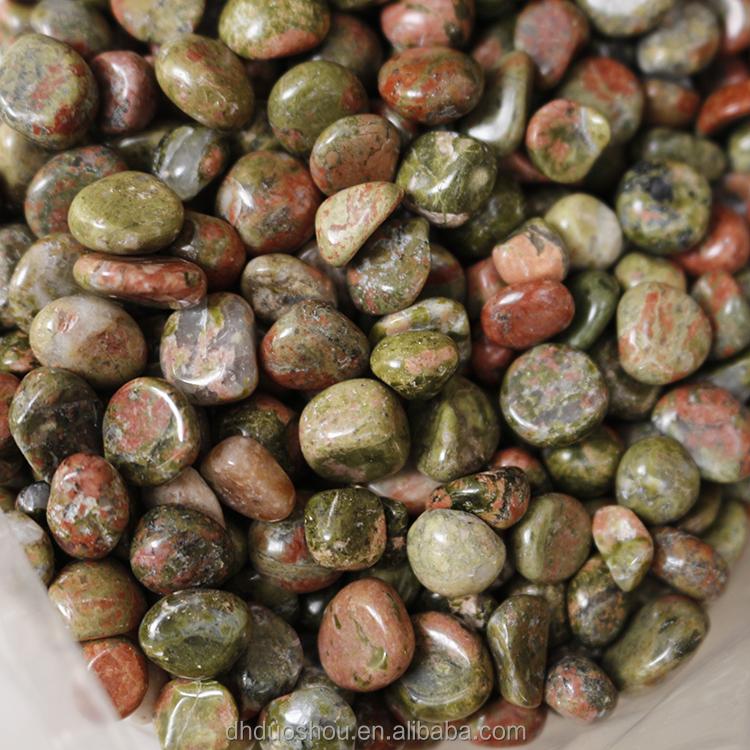 Venta caliente natural cay pulido de granito verde labradorita piedra para paisajismo y - Venta de piedras para jardin ...