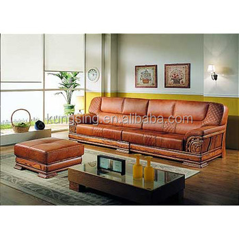 Wood Trim Leather Sofa Set Designs And Prices - Buy Wooden Sofa Set Designs  And Prices,Leather Sofa Wood Trim,Wood Sofa Set Product on Alibaba.com