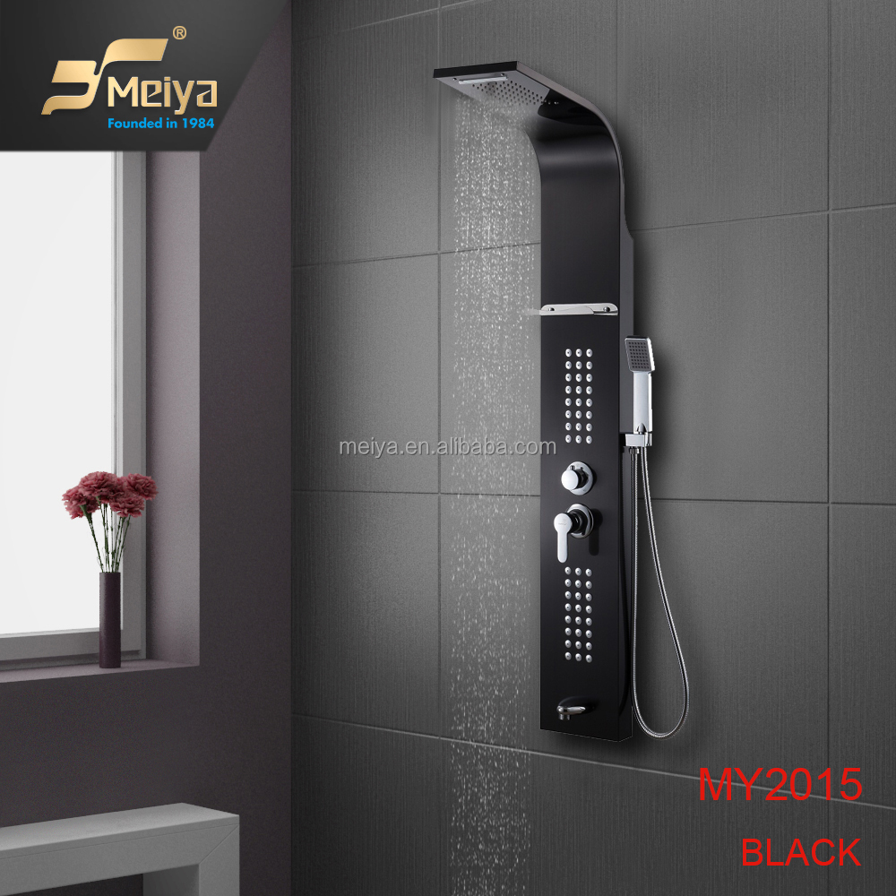 Wall Mounted Multifunctional Spa Shower Panel In Shower Room - Buy ...