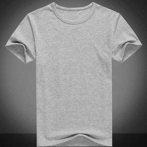 Gym slim fit sport custom blank tshirt, plain cotton tshirt wholesale in China