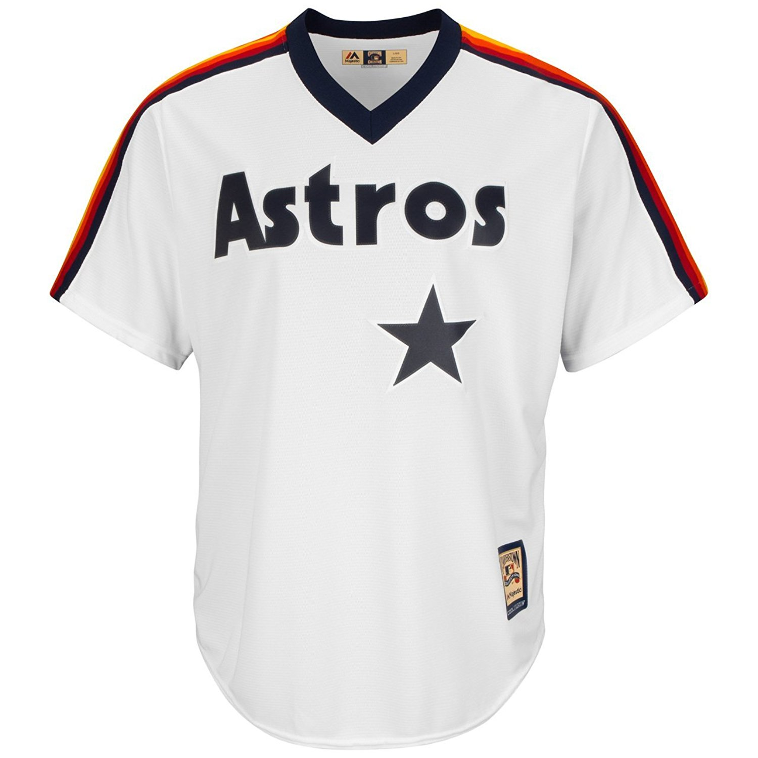 Majestic Cooperstown Cool Base® Jersey - MLB Houston Astros (L, White)
