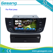 Gesang vendita calda touch screen <span class=keywords><strong>car</strong></span> <span class=keywords><strong>audio</strong></span> per Fiat linea/punto Android 6.0 lettore dvd dell'automobile con il gps