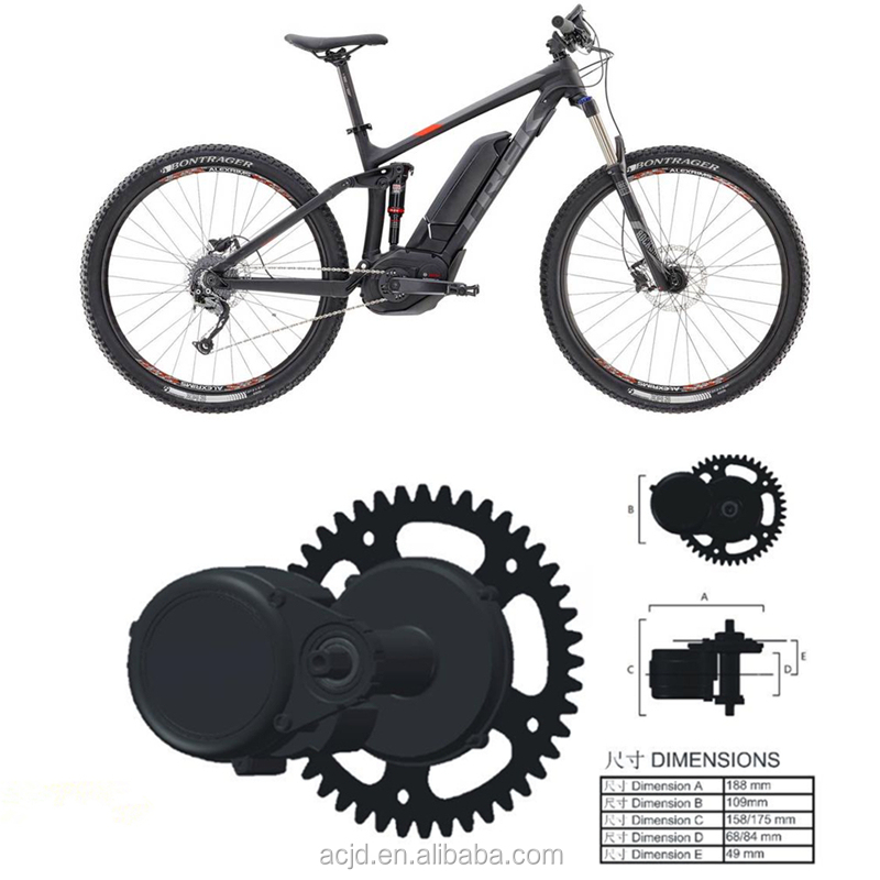 Electric Bike Motor Mid Drive Kit Central E For Bicycle