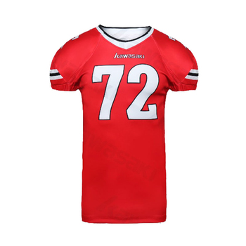 Latest best design dri fit double sided make your own brand american football jersey