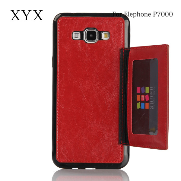 tpu and pu material phone accessories for elephone p7000 leather case cover newest products china supplier