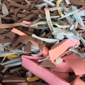 Refillable polyurethane recycled foam plastic film scrap
