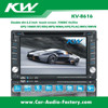 6.2 inch Double din car DVD/MP5