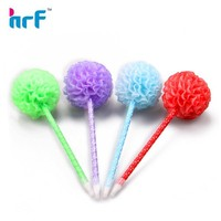 colorful advertising gift ball pen with flower
