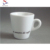 3oz custom logo ceramic espresso cup and saucer W0087