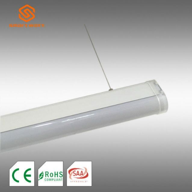 CE UL CUL ROHS T8 LED tube batten lighting fixture Wall Lamp 2X36W Fluorescent Lighting Fixtures