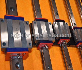 HIWIN LINEAR GUIDE carriage for CNC machine SHANGDONG SER cnc liner guide