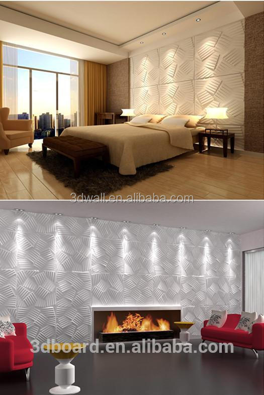 3d effect home decoration waterproof background paintable wallpaper