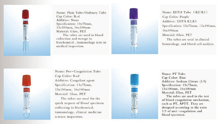 Disposable Vacuum Blood Collection Tube Buy Blood Collections Tube