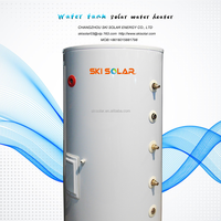 porcelain enamel and stainless steel water pressure tank