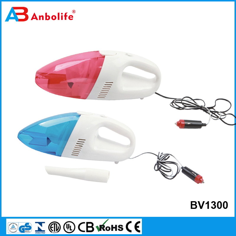 Anbolife 2017 Hot Sell 12V 35W CE GS Certificate Portable Mini Car Washer Helper Handy Handheld/Household Wet&Dry Vacuum Cleaner