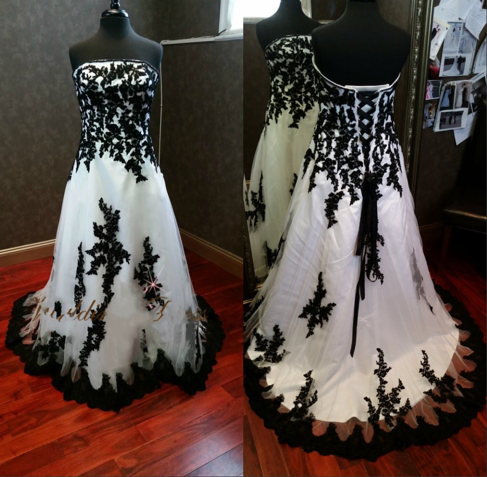 Popular Plus Size Gothic Wedding Gowns Buy Cheap Plus Size: Popular Plus Size Gothic Wedding Dresses-Buy Cheap Plus