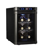 2019 20L 8 bottles thermoelectric mini wine chiller cooler cellar
