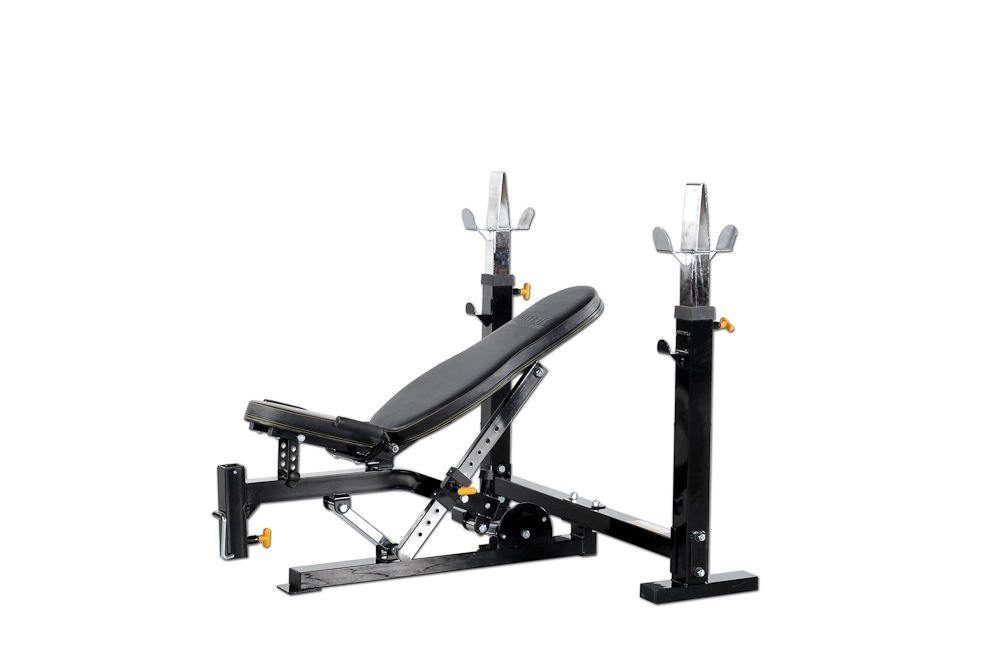 Get Quotations · Powertec Fitness Workbench Olympic Bench, Black