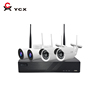P2P h.265 wifi security camera kit bullet ptz ip camera wifi 4ch 2.0mp 1080p long range outdoor wifi security system