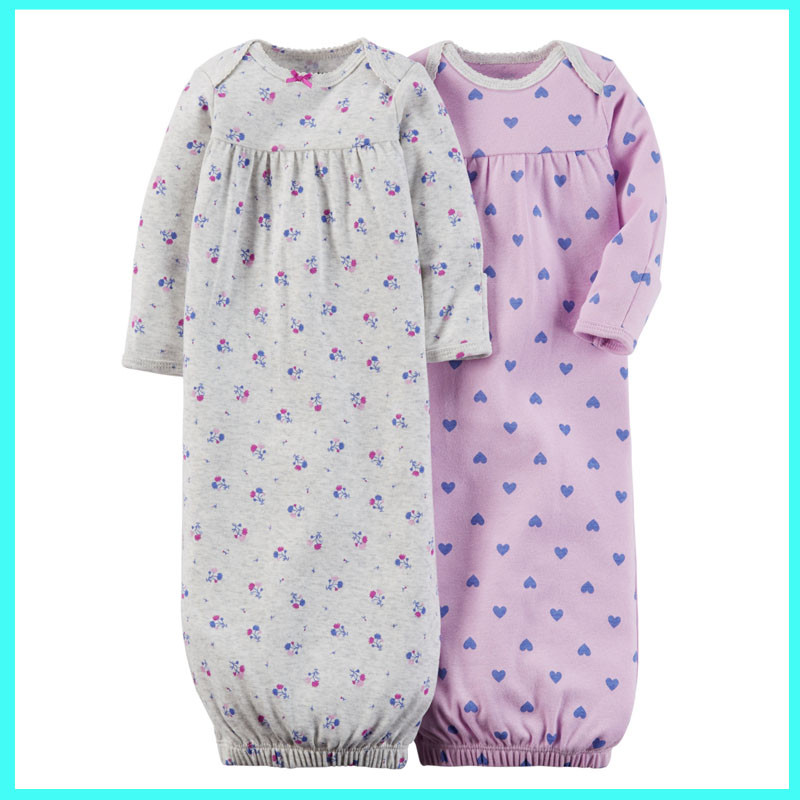 2017 Latest Newborn Baby Gown Baby Sleep Gown Baby Gown Malaysia ...