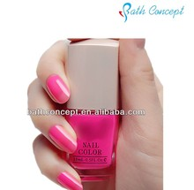 Cosmetic lady water based peel off nail polish