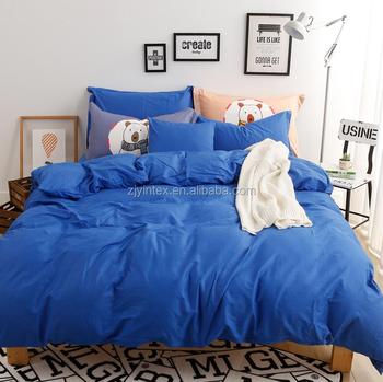 100% Polyester Duvet Cover,100gsm Custom Printed Bed Sheets Adult Bedding  Set
