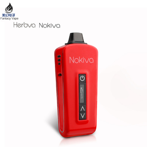 2017 Upgraded Ceramic Heating Airistech NOKIVA herbva Portable Dry Herb vape Digital USB Vaporizer