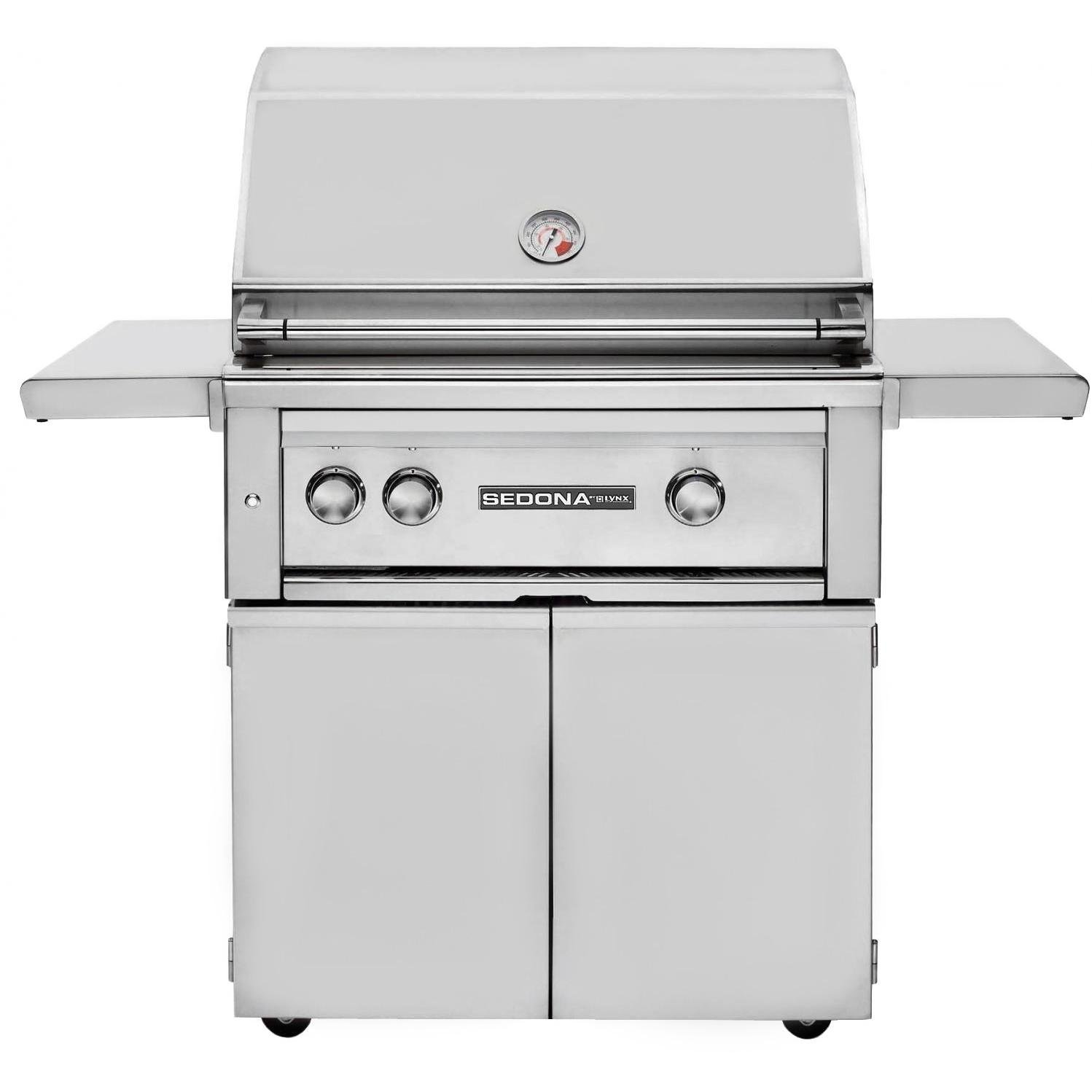 """30"""" Sedona Built-in Gas Grill with ProSear-Rotisserie Burner Fuel Type: Natural Gas"""