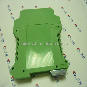 Green modular terminal component plastic electronic enclosures