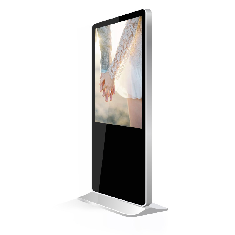 direct factory supply 43 49 55 65 inch floor stand digital signage/lcd display/advertising screen