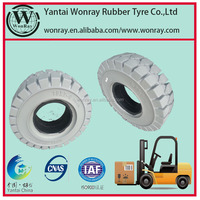 china tyre manufacturers 300*125 SMsolid rubber Tires for forklift andother industrial vehicles,tyre brands list:WonRay,WRST