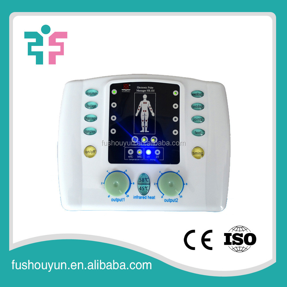tens acupuncture digital therapy machine body massager for foot,hand,back,waist