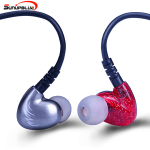 New sunupblue super bass stereo ear hanging 10mm headphone dynamic drivers